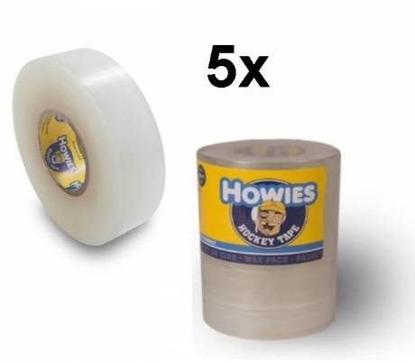 "5x Pak Howies Shine Tape clear 1""x18m"