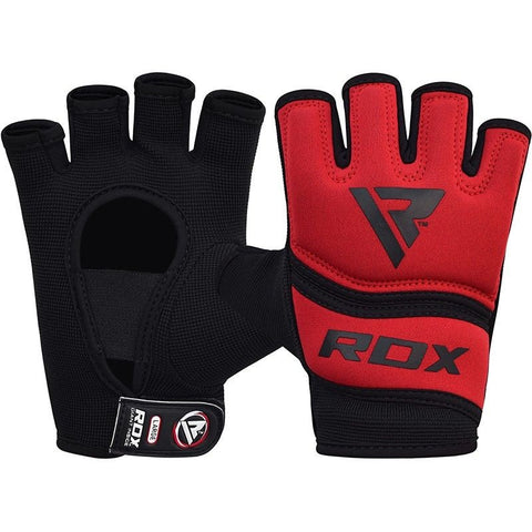 RDX Grappling Handschuh Gel X6 rot S-XL