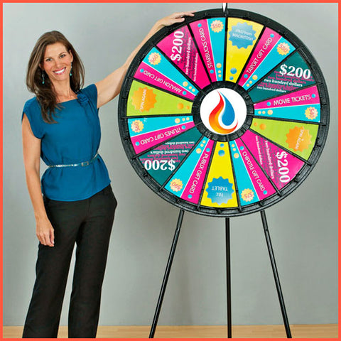 Extra Large Prize Wheel