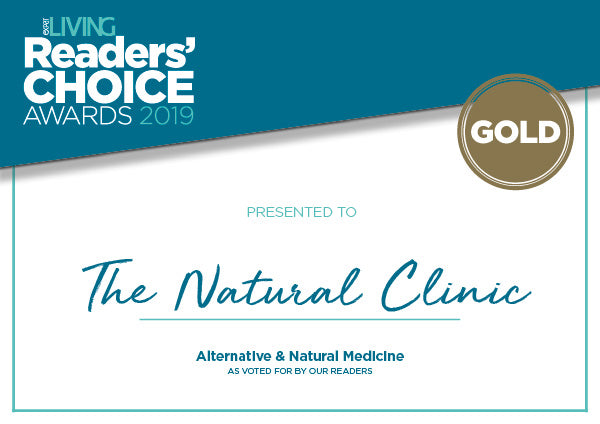 The Natural Clinic was the Expat Living Award Gold Winner