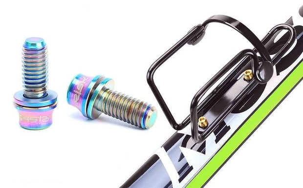Oil slick bottle cage bolts high strength lightweight grams