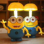 3 in 1 Minion styled table Lamp for kids with a Piggy bank (1 Piece) - You and Gifts