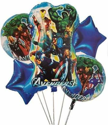 Super hero Theme based Foil Balloon for birthday party decoration-Party Supplies-You and Gifts