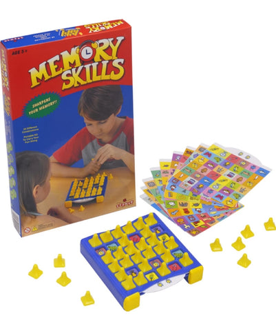 Memory skills game for kids