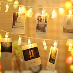 Photo clip lights with 20 LED, Birthday Party/ Festival/ Party Decoration/ Frame - You and Gifts