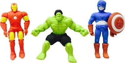 Fancy Superhero styled erasers for kids - You and Gifts