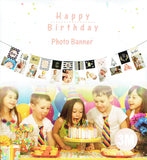 First birthday photo banner - You and Gifts