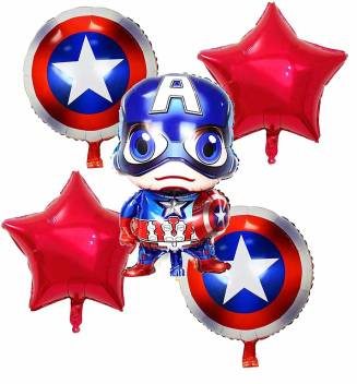 Super hero Theme based Foil Balloon for birthday party decoration