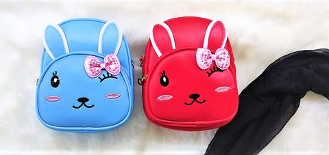 Cute cat styled backpack for girls with a bow ( 1 Bag)-Bags and Pouches-You and Gifts