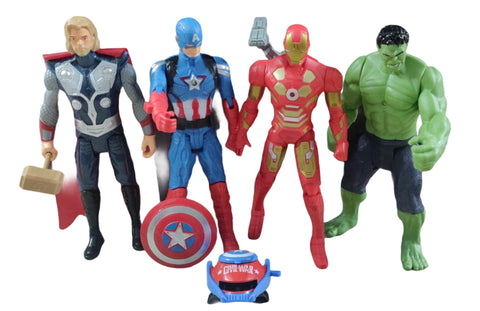 Superhero Figurines for kids role play