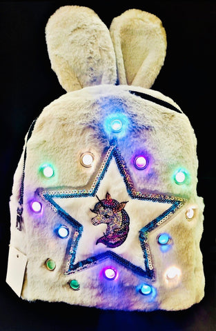 Cute and Stylish Unicorn  backpack with LED lights