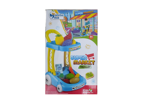 Super market trolley pretend play toy