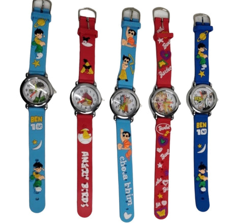 Cartoon Character watches for kids