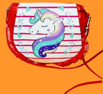 Magical Unicorn Multipurpose sling bag/ Make up Pouch/ Stationery pouch