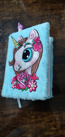 Unicorn Fur Diary/ Notepad-Stationery-You and Gifts
