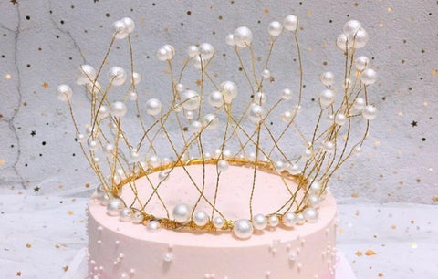 Princess theme crown Cake Topper-You and Gifts