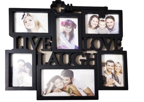 Beautiful Collage Live Laugh love room decor Photo frame-Photo Frames-You and Gifts