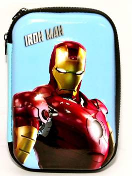 Superhero Styled Multipurpose pouch/ Stationery pouch for kids
