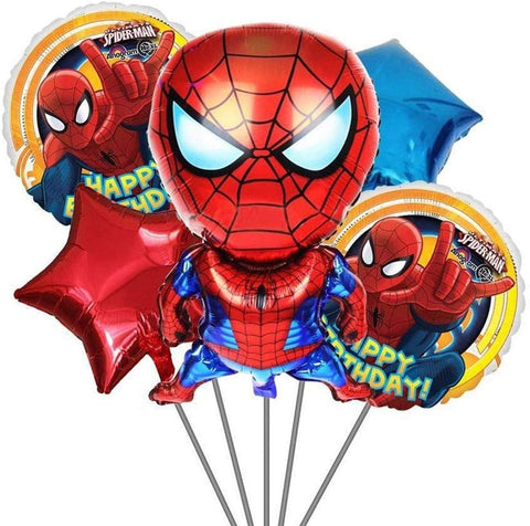 Super hero Theme based Foil Balloon for birthday party decoration - You and Gifts