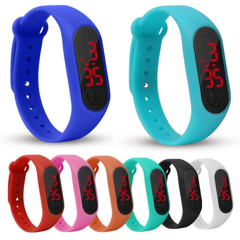 Smart digital touch watch for kids