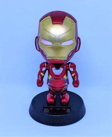Solar Powered Superhero Bobblehead for home or car decoration - You and Gifts