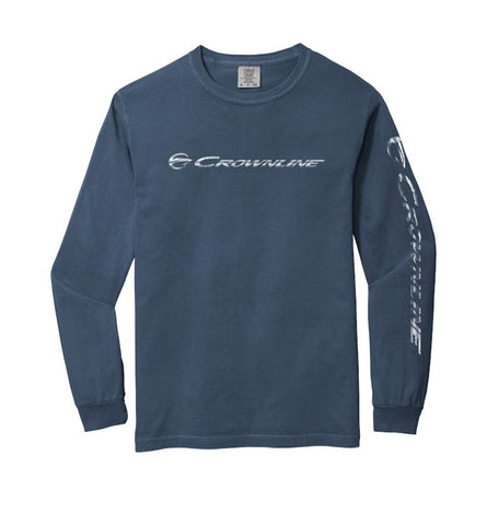 Crownline Heavyweight Ring Spun Long Sleeve Tee