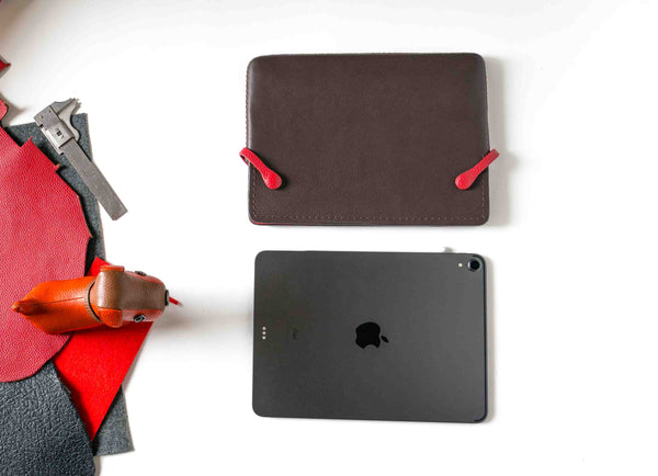 iPad Pro Brown/RED