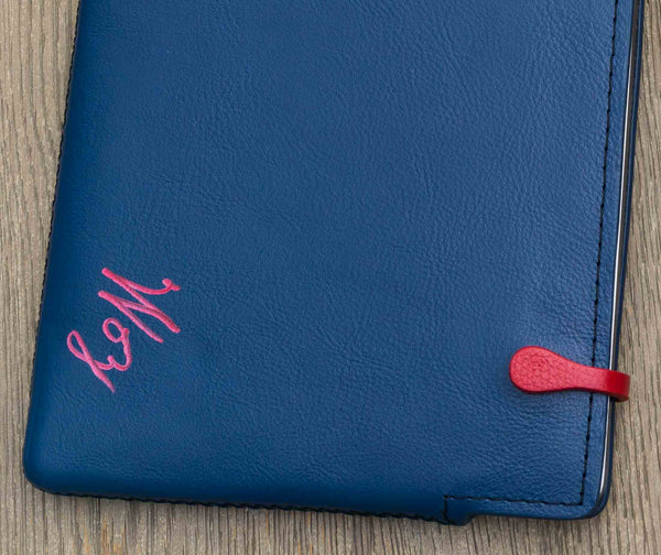 .Woz. Signed Blue Macbook