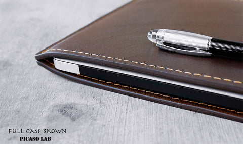 Full leather case, BROWN