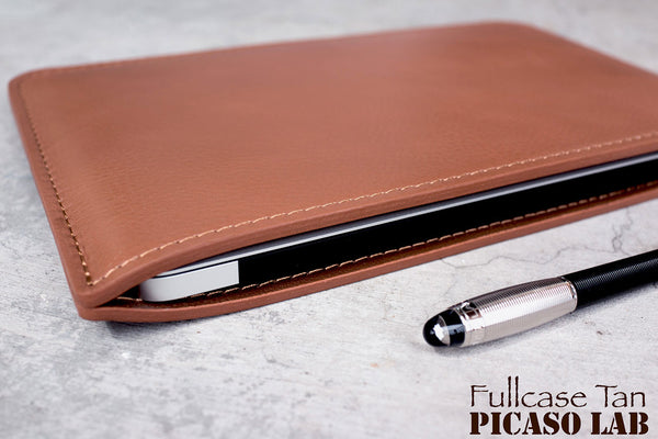 Full leather case, TAN