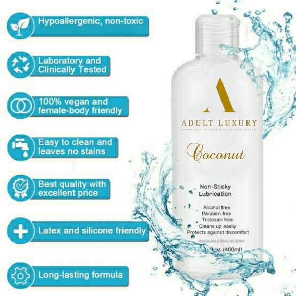Coconut Lubricant Adult Luxury
