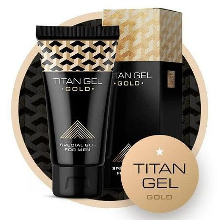Titan Gel Gold : Penis Enhancement Cream Adult Luxury