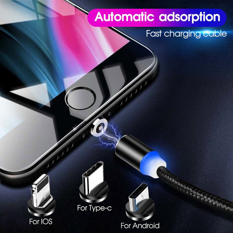 ZAP - Magnetic Fast Charging Cable - Slick3d