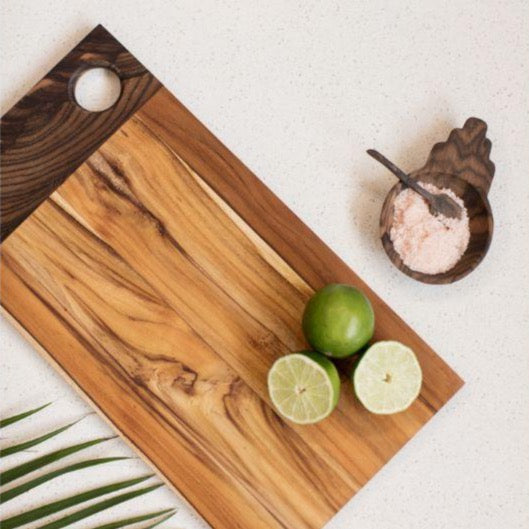 Handmade serving board