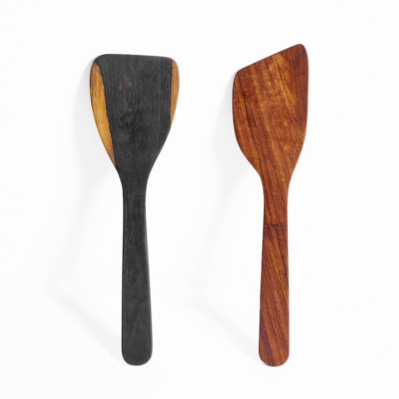 wood spatulas