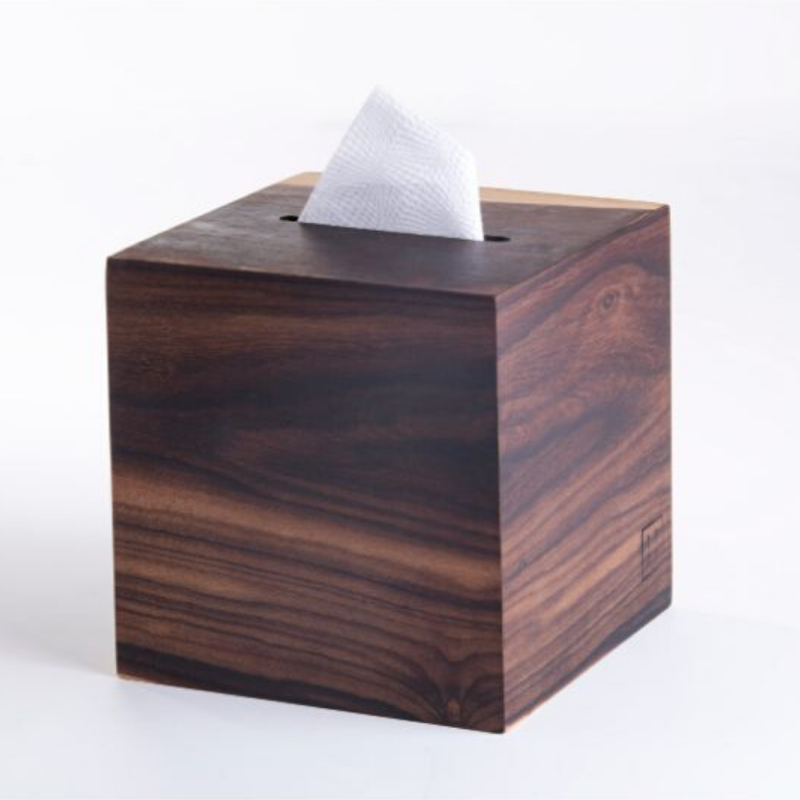 Wooden Tissue Box Holder