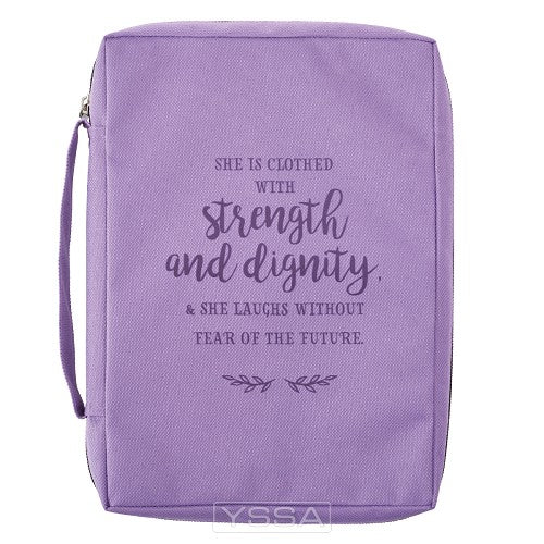 Strength and dignity - Poly-Canvas