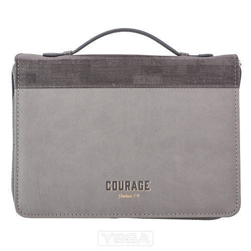 Courage - Grey - LuxLeather