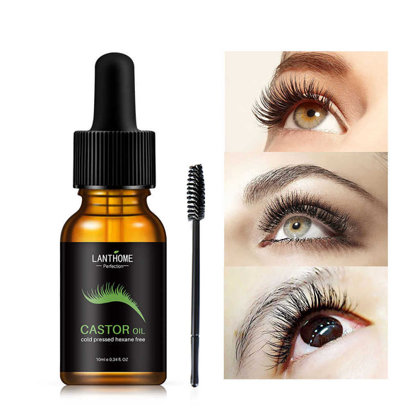 Organic Castor Oil - Eyelash Growth Serum