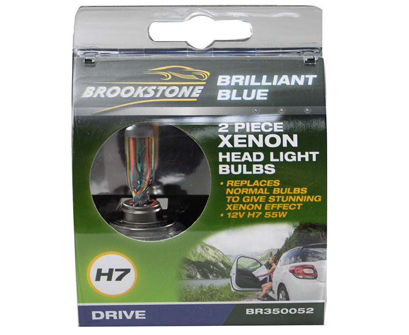 Brookstone Xenon Headlight Bulb Set H7 2PC