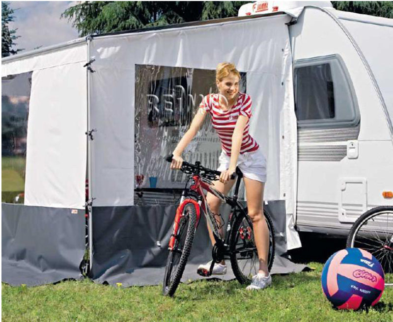 Fiamma Awning Side Blocker Pro Caravanstore with Window