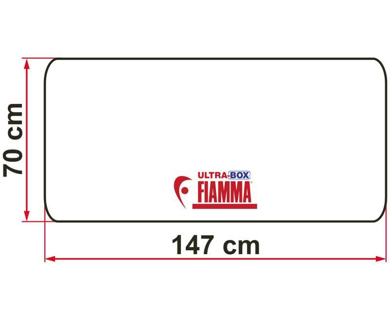Fiamma Ultra-Box 500 Motorhome Rear Storage Box