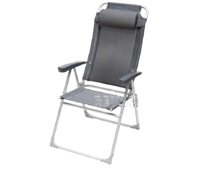 Camp 4 Malaga Compact Ll (Black/Silver) Folding Camp Chair