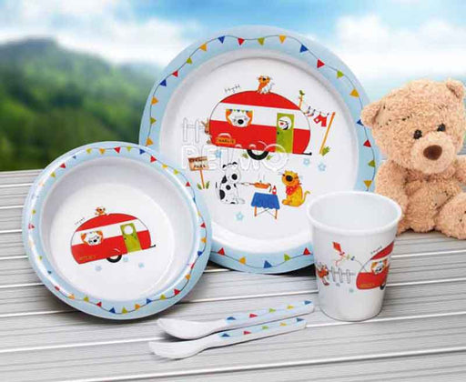 Childrens Caravan Melamine Set