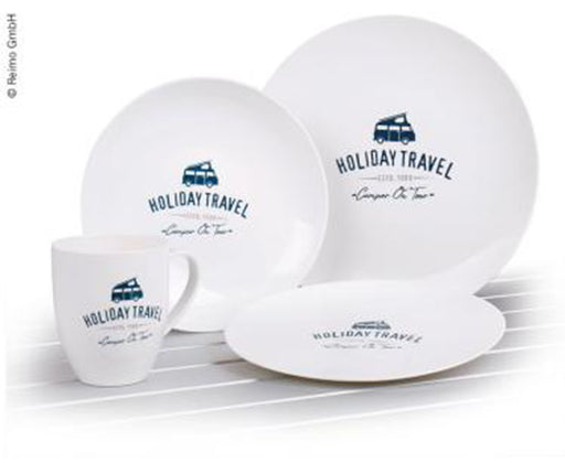 Melamine Holiday Travel Set 8PC