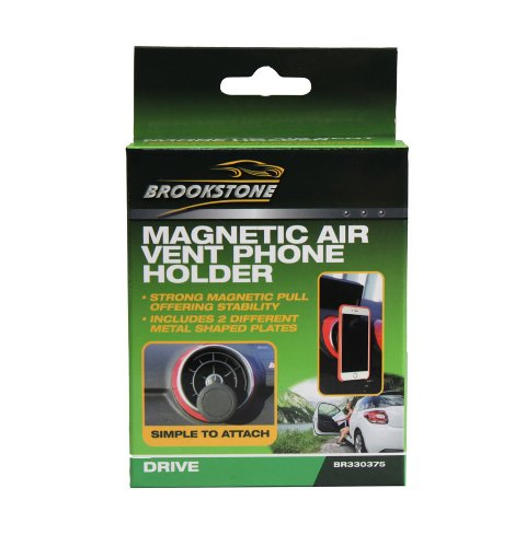 Brookstone Magnetic Vent Phone Holder