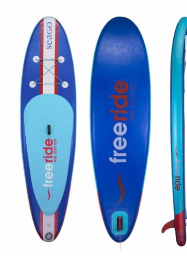 "Seago SUP Inflatable Paddleboard 10ft 6"" Freeride"
