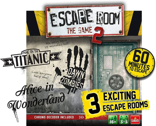 Goliath Escape Room The Game 2 Adult Board Games