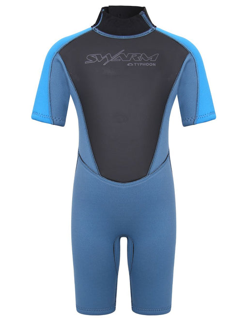 Typhoon Swarm Infant Shorty Wetsuit Steel Blue Black
