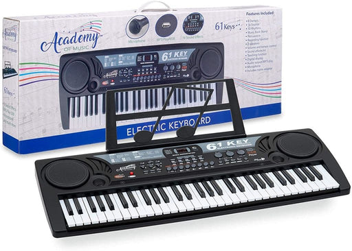 AOM Kids UK Electronic 61 Key Keyboard Piano
